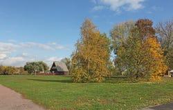 Rural landscape of Kolomenskoye, Moscow Stock Photo