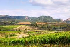 Rural landscape in   La Rioja Royalty Free Stock Image