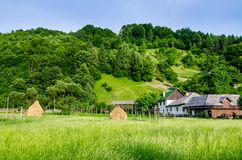Rural landscape in Maramures Stock Photography