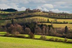 Rural landscape nature Royalty Free Stock Image