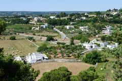 Rural landscape near Locorotondo on Puglia Stock Photos