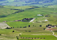 Rural landscape near Montalcino Stock Photography