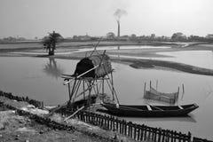 Rural landscape near north 24 pargana west bengal