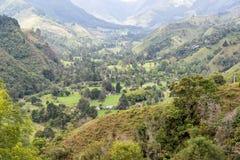 Rural Colombian Landscape Stock Image
