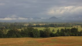 Rural landscape near Wauchope, New South Wales Royalty Free Stock Photography