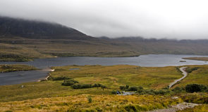Rural landscape in north scotland Stock Image