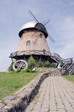 Rural landscape with old windmill Stock Image