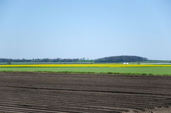 Rural landscape patterns Royalty Free Stock Photography