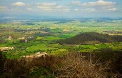 Rural landscape from Puig de Randa, Mallorca Royalty Free Stock Photography