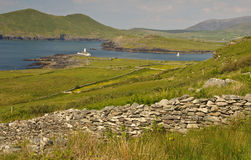 Rural landscape from ring kerry ireland Stock Image