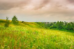 Rural landscape. Russia Stock Photos