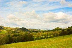 Rural landscape in Scottish Highlands Stock Photography