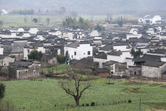 Rural landscape of southern Anhui Stock Photography