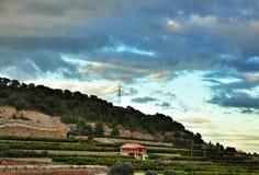 Rural landscape, Spain Stock Image