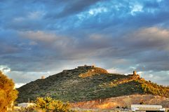 Rural landscape, Spain royalty free stock photography