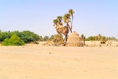 Rural landscape in Sudan Stock Photography