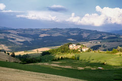 Oltrepo Pavese Italy, rural landscape at summer Royalty Free Stock Photos