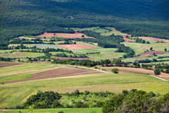 Rural landscape in Thracia Royalty Free Stock Images