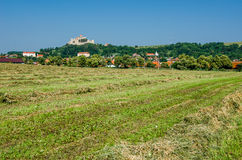 Rural landscape in Transylvania, Rupea Royalty Free Stock Image