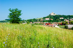 Rural landscape in Transylvania, Rupea Royalty Free Stock Photography