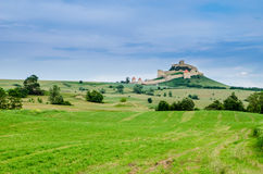 Rural landscape in Transylvania, Rupea Royalty Free Stock Photos