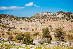 Rural landscape in Turkey Stock Image