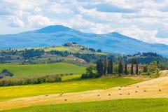 Rural landscape of Tuscany Stock Photo