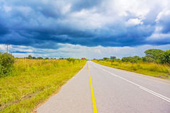 Rural landscape in Zambia Royalty Free Stock Image