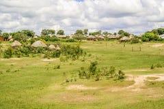 Rural landscape in Zambia Stock Image