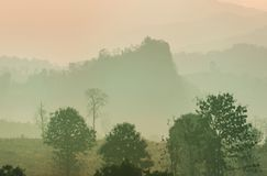 Northern Thailand. Rural landscapes in Northern Thailand royalty free stock photography