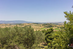 Rural lanscape of Greece Stock Images