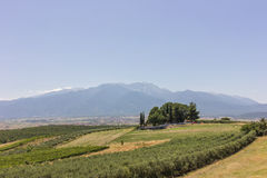 Rural lanscape of Greece Royalty Free Stock Photo