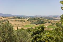 Rural lanscape of Greece Stock Photos