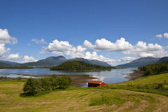 Rural lanscape of Norway Stock Image
