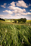 Rural lansdscape near Coburg Stock Photography
