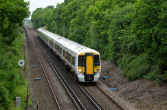 Rural leafy commuter service Royalty Free Stock Image