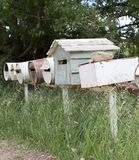 Rural Letterboxes Royalty Free Stock Photo