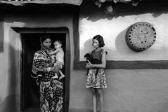 Rural Life in India Stock Photo