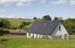 Rural life, Ireland. Country home in rural Ireland, sunny day Royalty Free Stock Photo