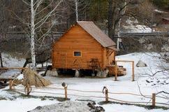 Rural Life Museum 'Watermill'. Located in the resort area of Belokurikha, Altai Krai, Russia Stock Photography