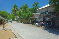 Rural life in the Philippines. Siargao Island Royalty Free Stock Photography