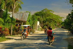 Rural life in the Philippines. Siargao Island Royalty Free Stock Images