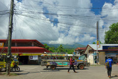 Rural life in the Philippines. Siargao Island. 27 May  2017 Stock Photography