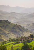 Rural life in romanian mountains Royalty Free Stock Images