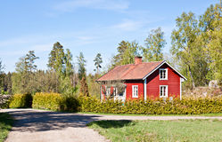 Rural life in Sweden. Royalty Free Stock Image