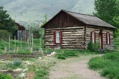 Rural Log Cabin royalty free stock photography