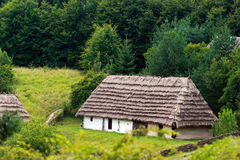Rural log-house Royalty Free Stock Image