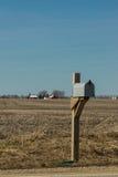 Rural Mailbox. Stock Photo