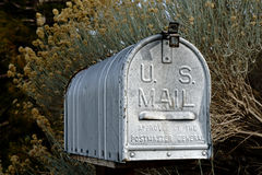 Rural Mailbox in the United States Stock Images