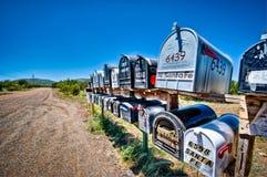 Rural Mailboxes Stock Photos